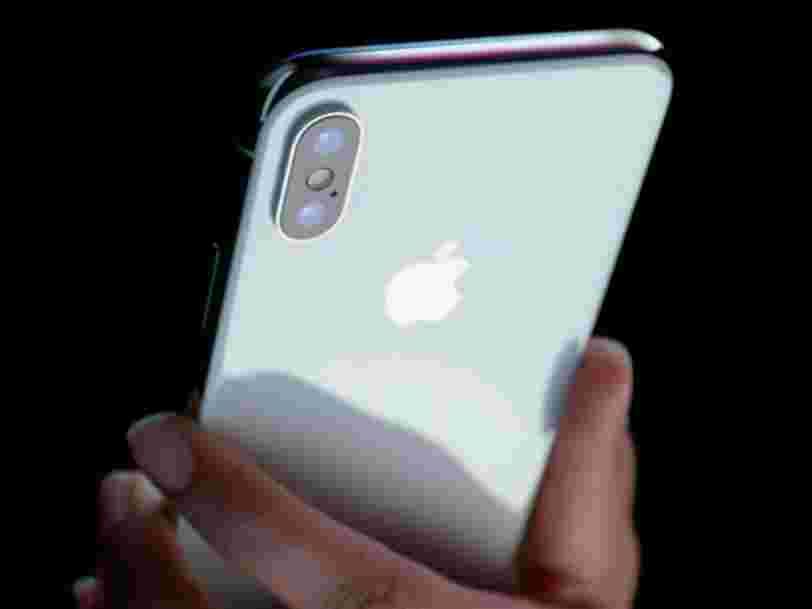 Apple va livrer plus tôt que prévu certains iPhone X précommandés
