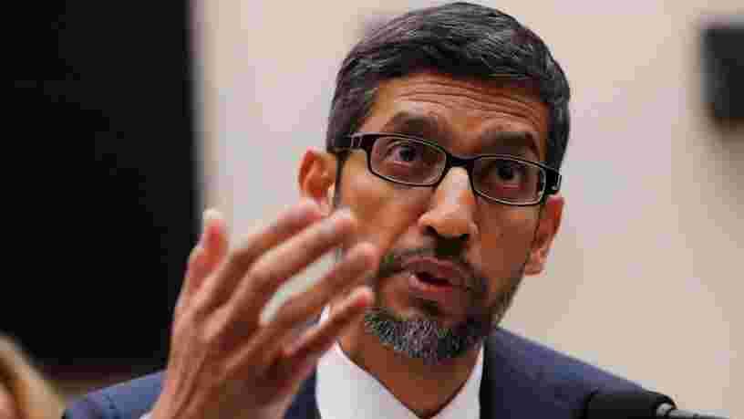 Sundar Pichai dit que plus de 100 employés de Google ont travaillé sur un moteur de recherche censuré en Chine