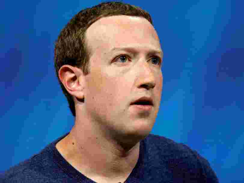 Mark Zuckerberg a perdu plus d'argent que n'importe quelle autre des 500 plus grandes fortunes mondiales en 2018 à cause de la désastreuse année de Facebook