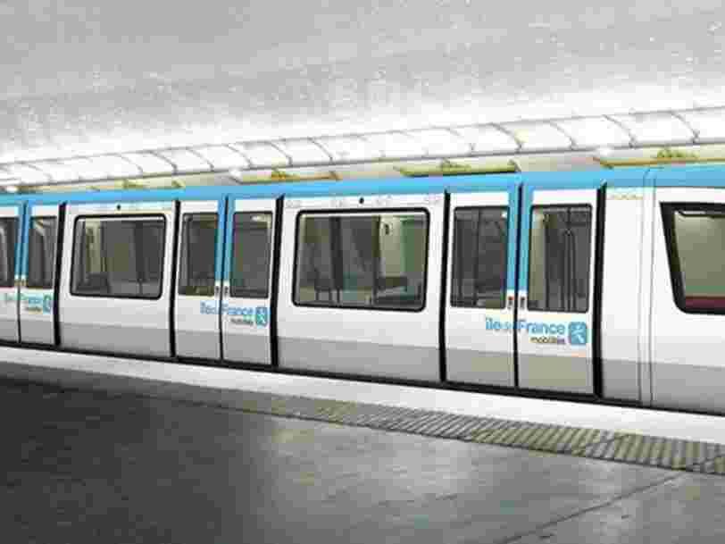 Les rames du métro parisien vont perdre leur emblématique couleur vert jade