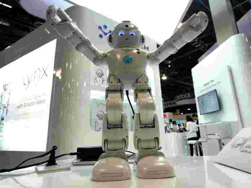 Une majorité de grandes entreprises promet de former les salariés si des robots devaient les remplacer