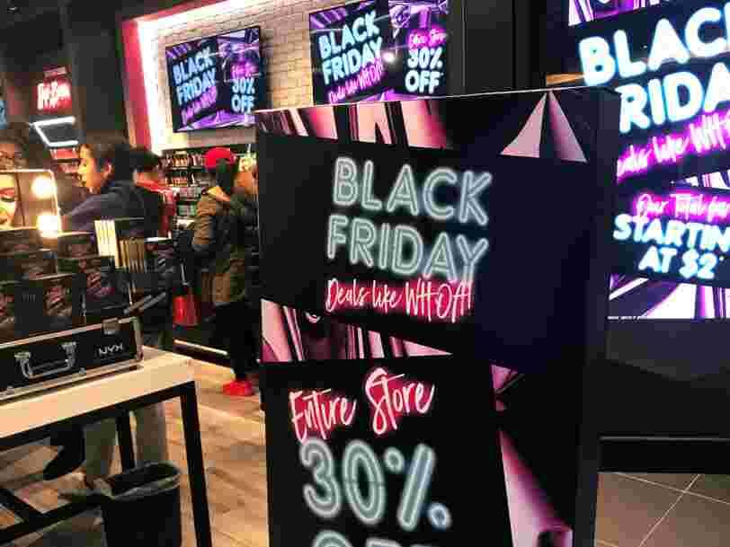 Il pourrait y avoir un record d'achats lors du Black Friday — et ce sera sûrement la dernière fois que vous validerez vos paiements par SMS