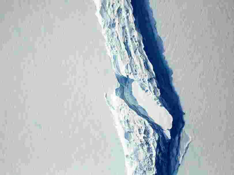 Un iceberg de 1000 milliards de tonnes et de la taille de la Creuse s'est détaché de l'Antarctique et c'est un record