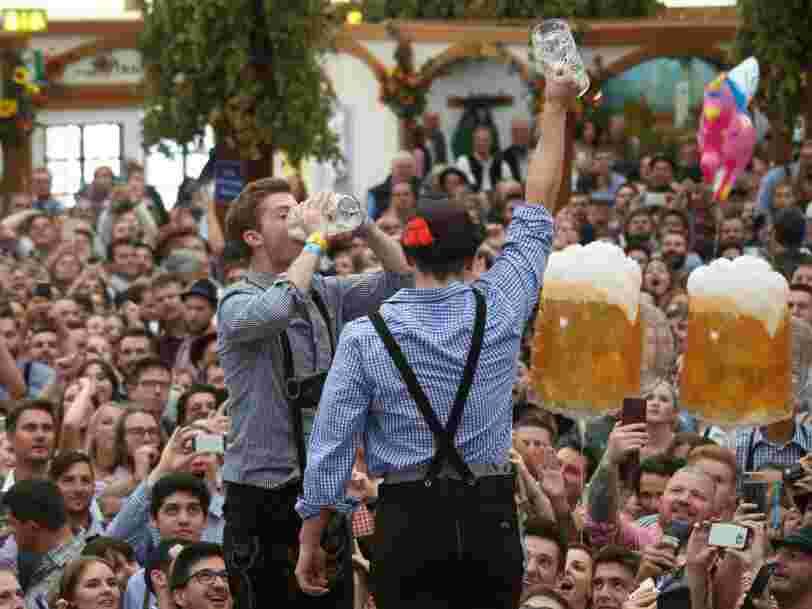 Heineken va investir 29 M€ dans son usine de Marseille qui produit déjà 100.000 bouteilles de bière par heure
