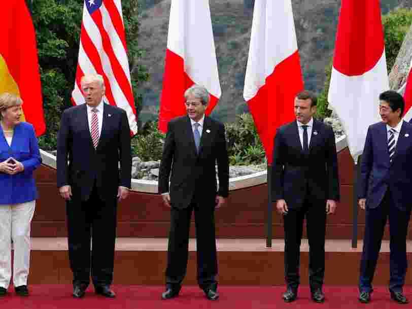 Le G7 se réunit pour la première fois en 1 an et plus de la moitié des participants sont nouveaux