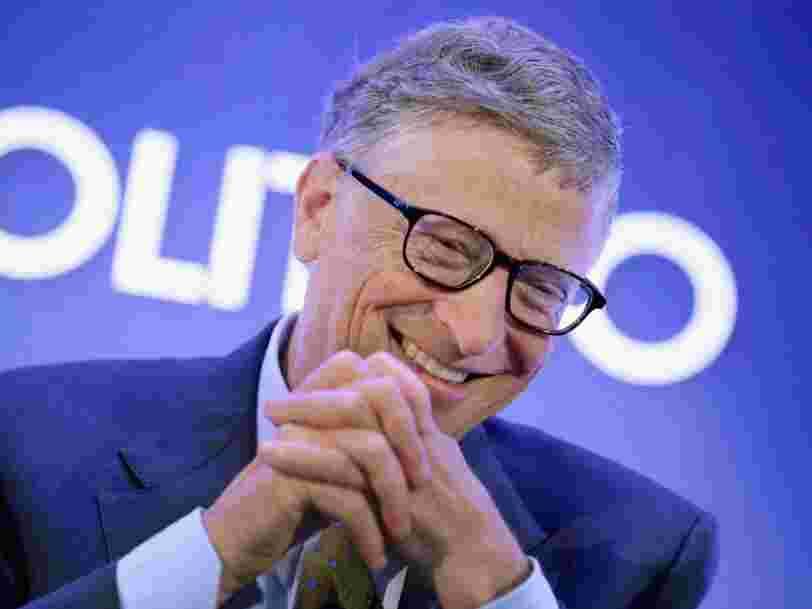 Bill Gates prouve que vous n'avez pas besoin de prendre des risques pour réussir