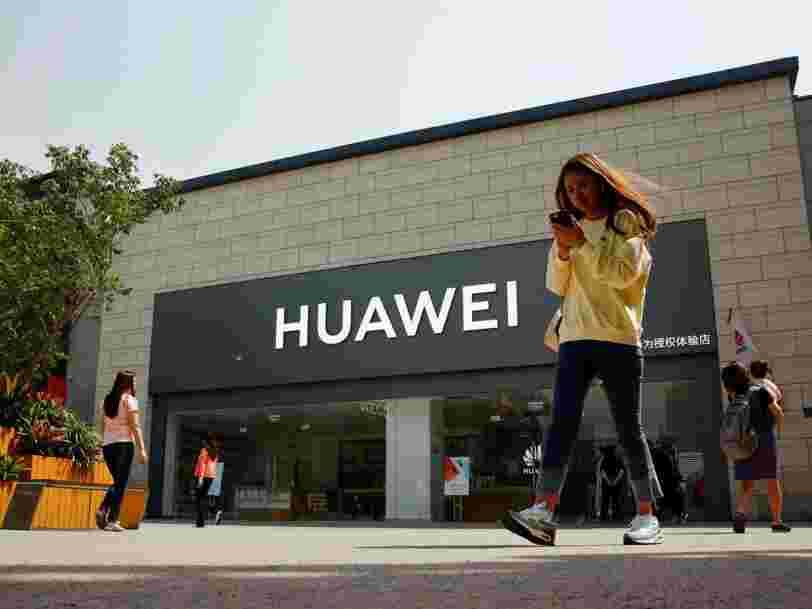 Huawei ne pourra plus utiliser Android et YouTube pour ses smartphones