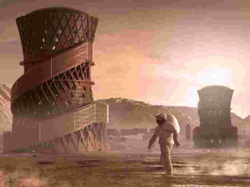 La NASA a lancé un concours pour imaginer nos maisons sur Mars, voici ses 3 projets préférés