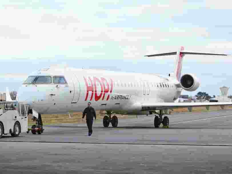 Hop devient 'Air France Hop' — voici pourquoi la compagnie française change de nom