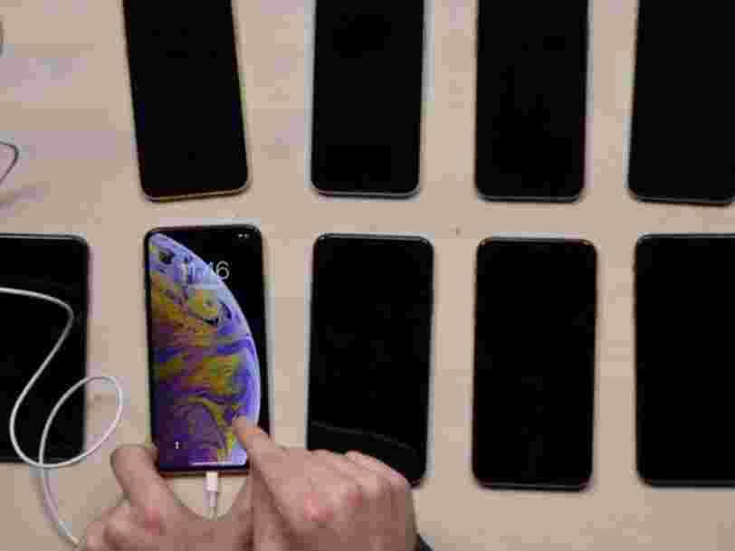 Certains propriétaires d'iPhone XS affirment que leur nouvel iPhone a un problème de chargement