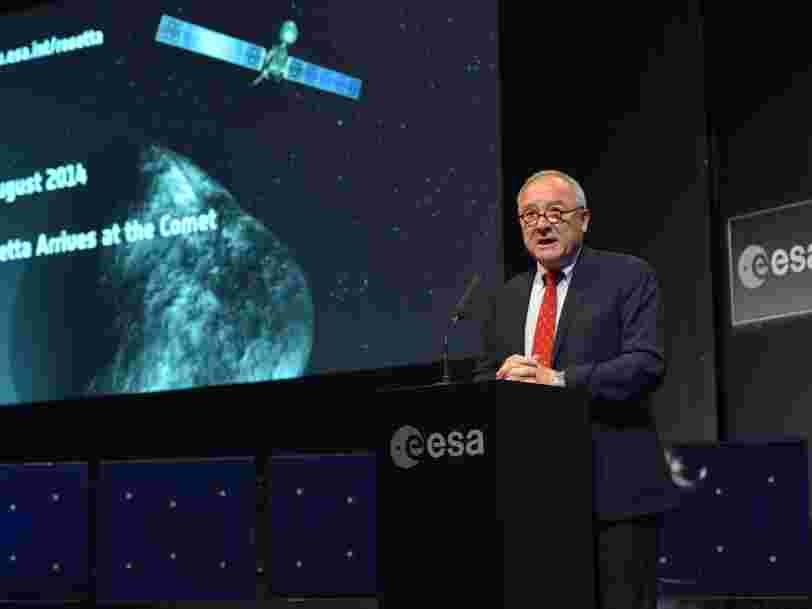 L'ex-DG de l'Agence spatiale européenne dit que la notion d'échec n'a pas la même valeur quand on travaille dans le public et le privé