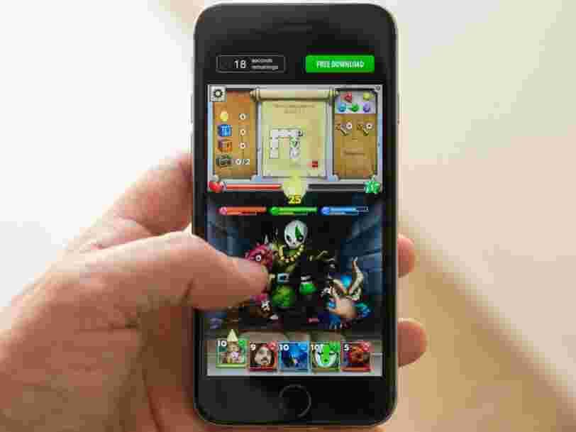Cette startup française a créé une solution qui pourrait vous faire installer 2 fois plus de jeux sur votre mobile