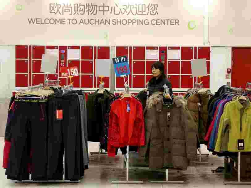 Le géant chinois du e-commerce Alibaba s'allie pour 2,5Mds€ à Auchan en Chine