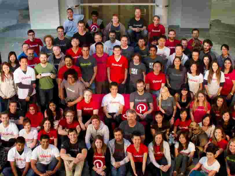 Pinterest a entamé des discussions avec des banques et recruté une dirigeante clé pour préparer son introduction en Bourse en 2019