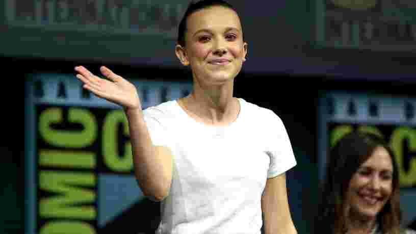 Millie Bobby Brown de 'Stranger Things' lance une marque de cosmétiques vegan