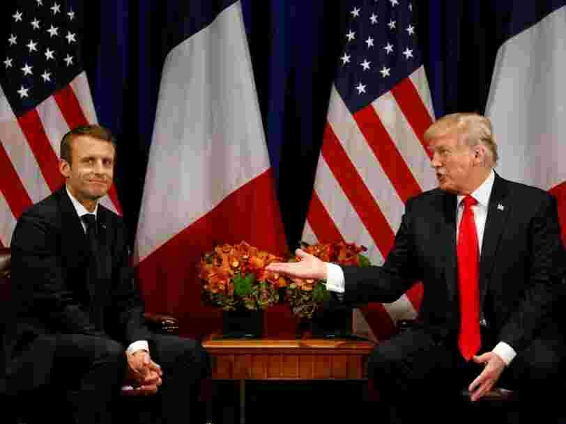 Emmanuel Macron écarte d'un revers de main le compromis proposé par les Etats-Unis sur l'accord de Paris sur le climat