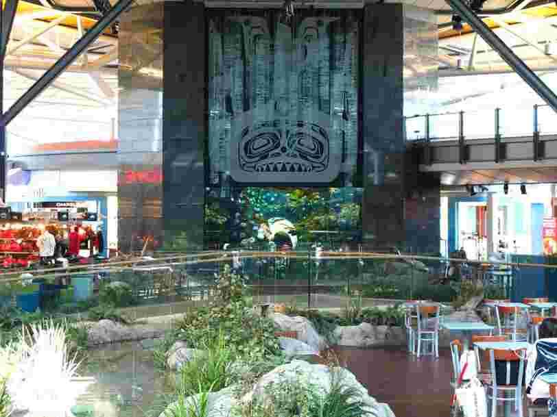 15 attractions cool dans les aéroports du monde entier