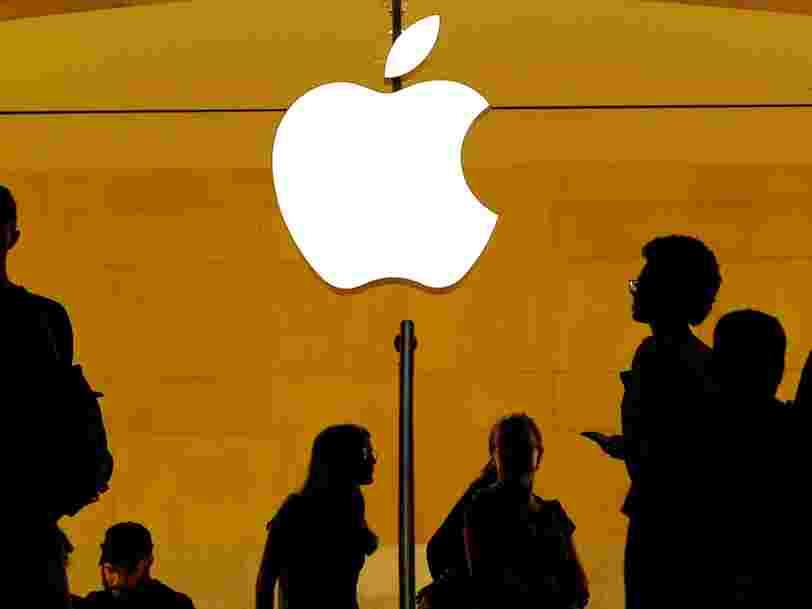 Apple dit avoir payé à ce jour 2/3 d'arriérés d'impôts à l'Irlande