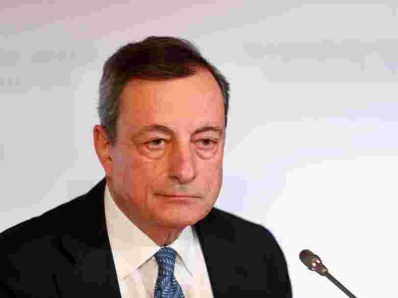 La BCE vient d'annoncer la date de fin de son programme de soutien à l'économie