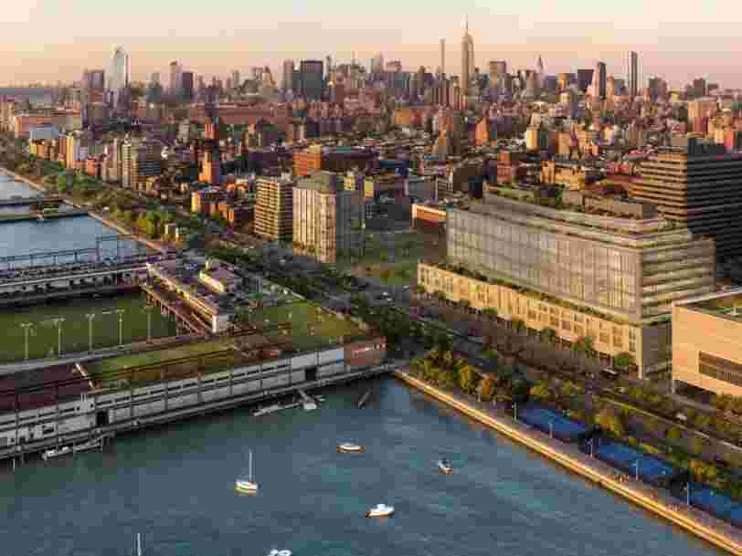 Google développe un gigantesque campus à 1 Md$ à New York