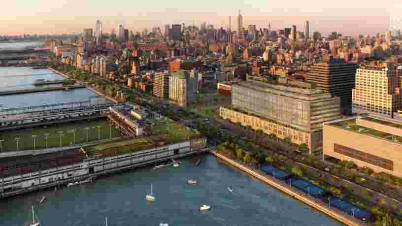 Google développe un gigantesque campus à 1 Md$ à New York