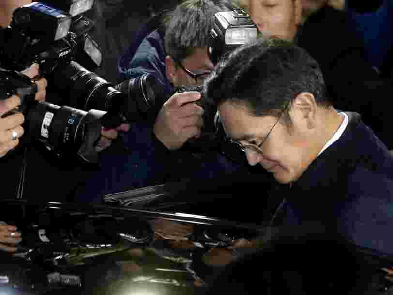 La justice coréenne a lancé un mandat d'arrêt contre le numéro 1 de Samsung pour corruption et détournement de fonds
