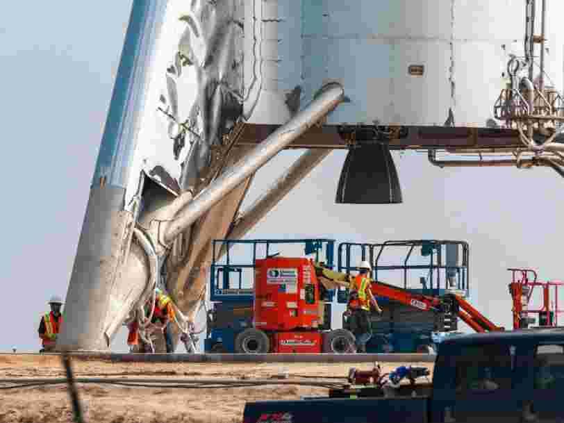 SpaceX se prépare à tester un prototype de fusée pour aller sur Mars. Regardez le lancement en direct