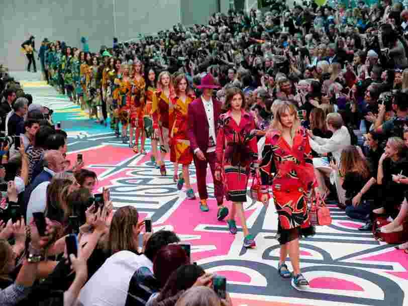 Les groupes de luxe français LVMH et Kering bannissent les mannequins de taille inférieure à 34 dans le monde entier