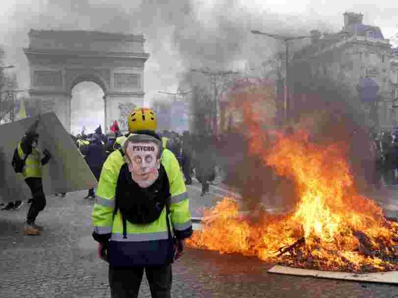 Les mesures annoncées par Edouard Philippe en réponse aux violences des Gilets jaunes