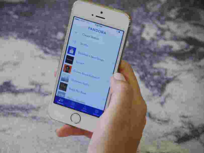Le service de streaming musical Pandora est racheté pour 3,5 Mds$ par un opérateur américain de radio par satellite