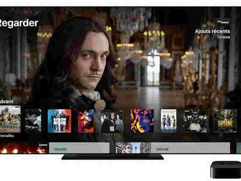 Canal+ va proposer l'Apple TV 4K en location pour recruter des abonnés 'plus jeunes et plus urbains'