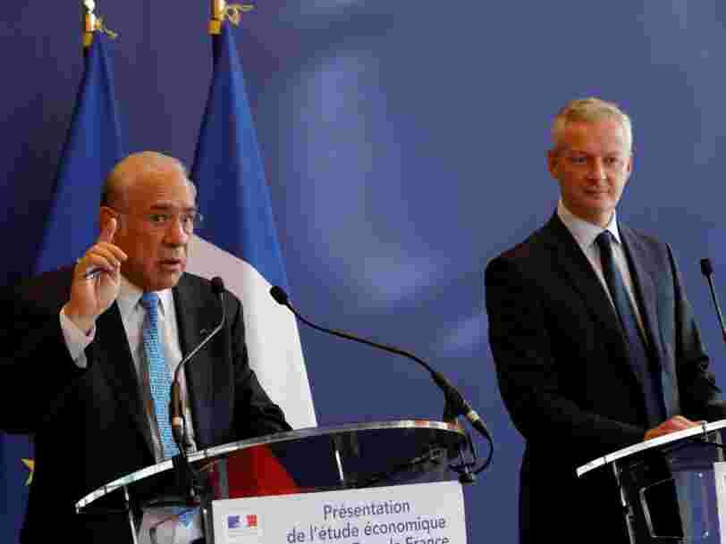 Il y a des propositions dans le dernier rapport de l'OCDE sur la France qui devraient alerter les artisans et réjouir les profs et les soignants