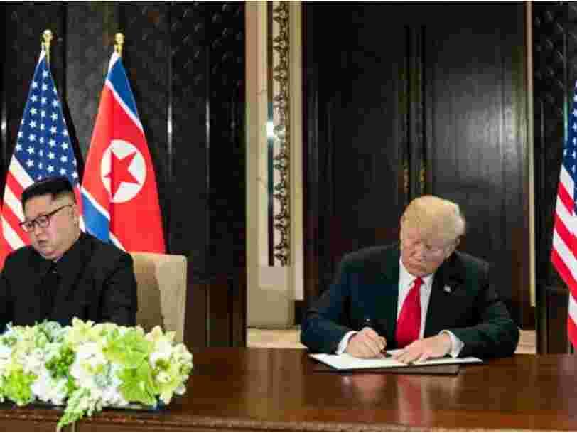 Crachats et coups de pieds sur les autres élèves... Kim Jong-un était insupportable en classe