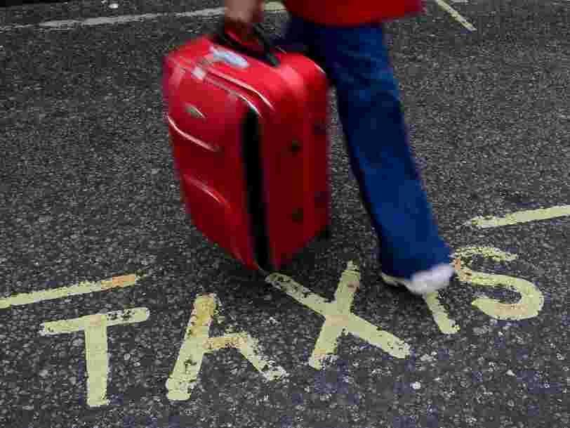 127 contribuables gagnant plus de 700.000€ par an ont quitté la France en 2014