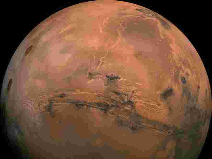 La NASA veut envoyer des colonies 'd'abeilles' robots pour explorer Mars