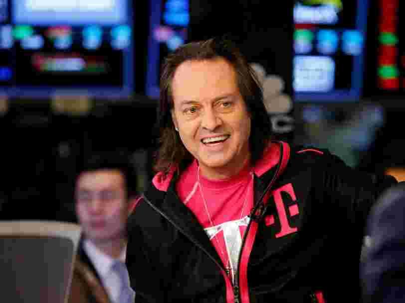 T-Mobile et Sprint fusionnent pour créer un géant des télécoms de 146 Mds$ et déboulonner les 2 leaders du secteur