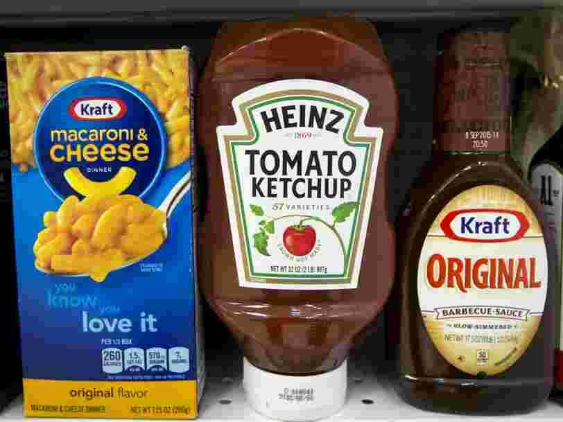Kraft Heinz renonce à son projet de fusion avec Unilever —2 jours après l'avoir annoncé