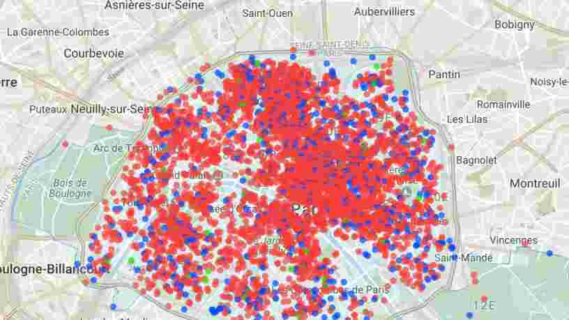 Plus de 20.000 logements parisiens ont été transformés en locations à la Airbnb