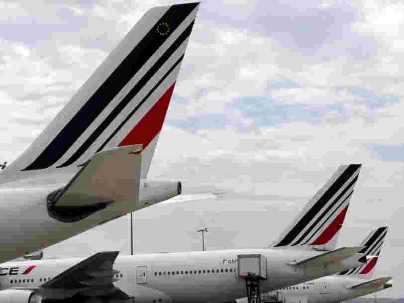 Air France chute en Bourse suite à l'annonce d'une nouvelle taxe sur les billets d'avion