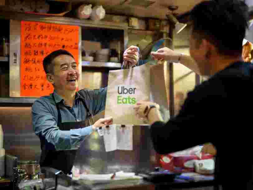Uber Eats va tester la vente à emporter en France  — voici comment ça marche