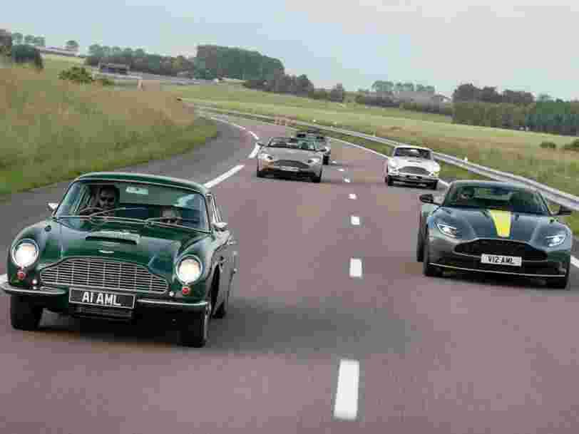 Aston Martin prépare son introduction à la Bourse de Londres — et ce serait le seul constructeur automobile coté