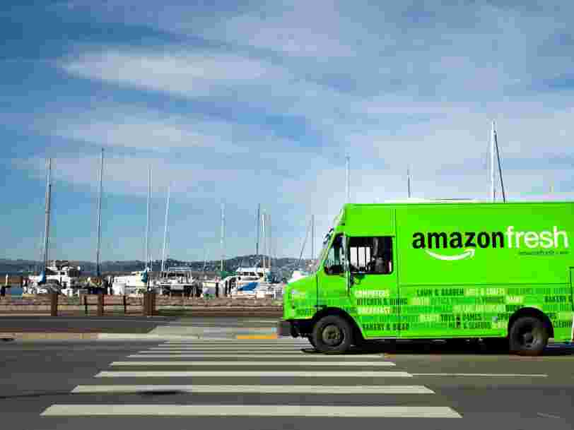 Amazon envisage de lancer Amazon Fresh en France