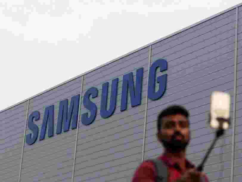 Samsung a vu son bénéfice augmenter moins vite que prévu au T2 car ses smartphones souffrent des rivaux chinois