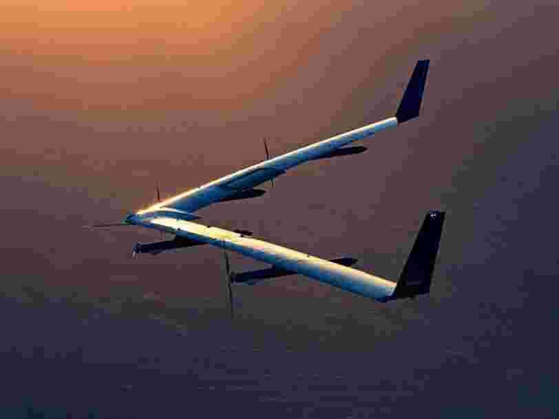 Le drone Internet de Facebook a effectué son second vol d'essai sans s'écraser