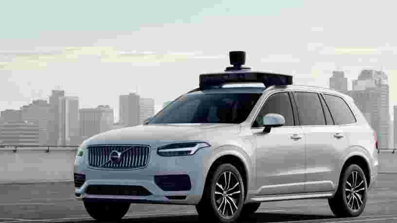 Uber dévoile sa nouvelle voiture autonome avec Volvo