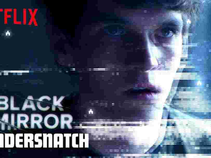 """Netflix veut mettre le paquet sur les récits interactifs après le succès de """"Black Mirror: Bandersnatch"""""""