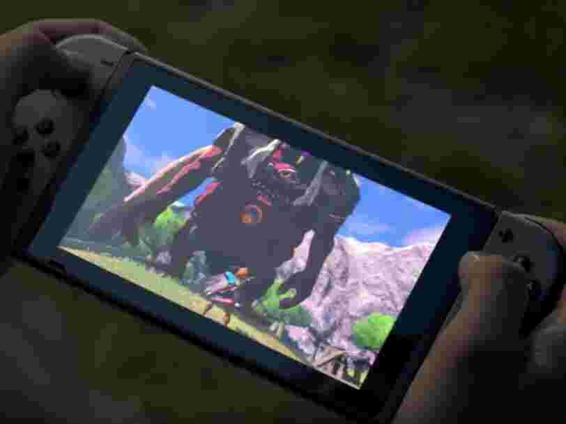 Nintendo annonce une nouvelle Switch avec une autonomie plus grande