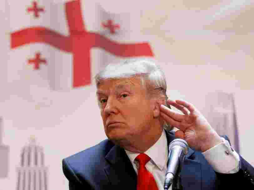 2 indices boursiers montrent l'influence des déclarations fracassantes de Donald Trump sur la valeur des entreprises US