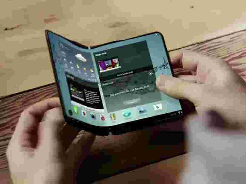 Samsung envisagerait de sortir le smartphone pliable Galaxy X l'année prochaine