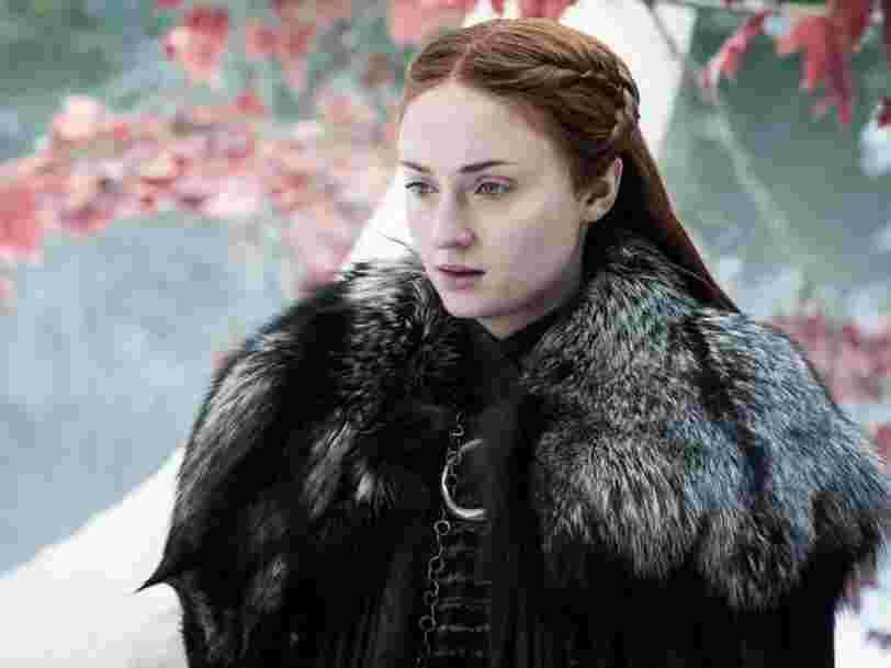Sophie Turner de 'Game of Thrones' gagne moins que Kit Harington... Et par rapport aux autres acteurs de séries américaines ?